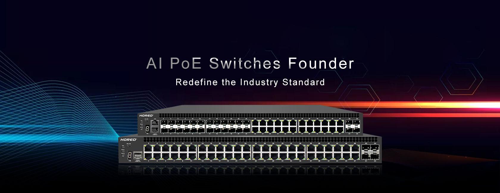 مشاهده محصولات سوئیچ شبکه POE