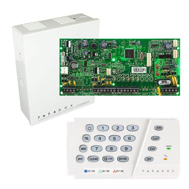 پنل SP5500 به همراه کی پد K636 پارادوکس و جعبه فلزی