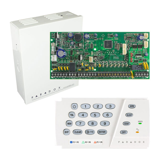 پنل SP6000 به همراه کی پد K636 پارادوکس و جعبه فلزی