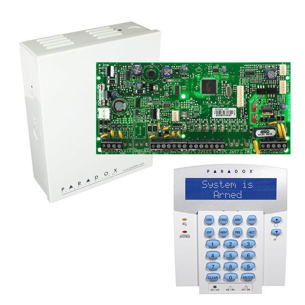 پنل SP5500 به همراه کی پد K32LX پارادوکس و جعبه فلزی