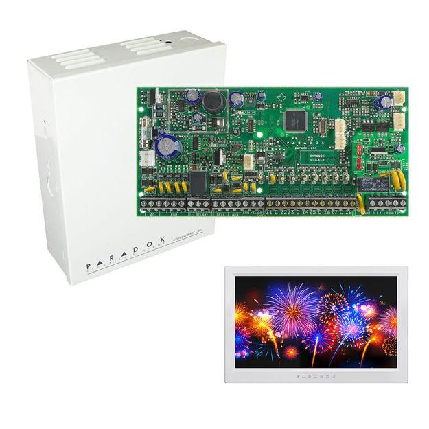 پنل SP6000 به همراه کی پد TM70 پارادوکس و جعبه فلزی