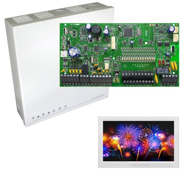 پنل SP7000 به همراه کی پد TM70 پارادوکس و جعبه فلزی