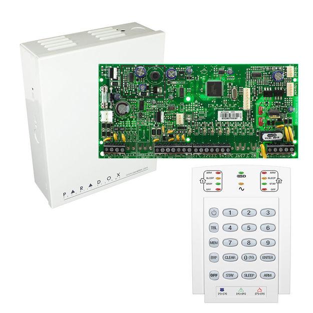 پنل SP5500 به همراه کی پد K10 پارادوکس و جعبه فلزی