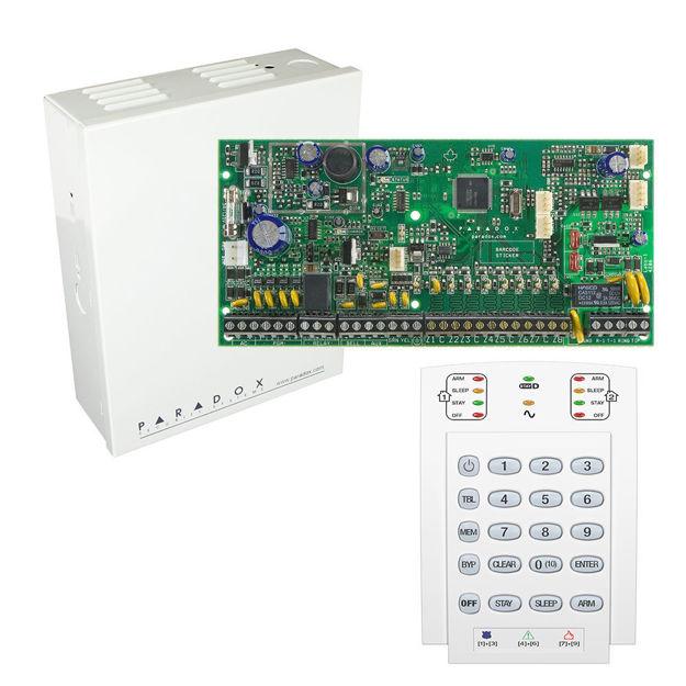 پنل SP6000 به همراه کی پد K10 پارادوکس و جعبه فلزی