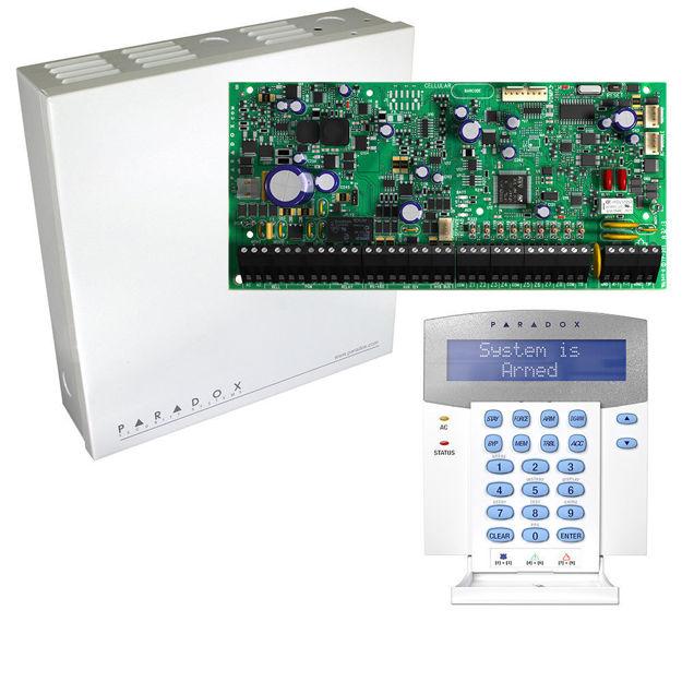 کنترل پنل حرفه ای پارادوکس مدل EVOHD به همراه کی پد K641R و جعبه فلزی