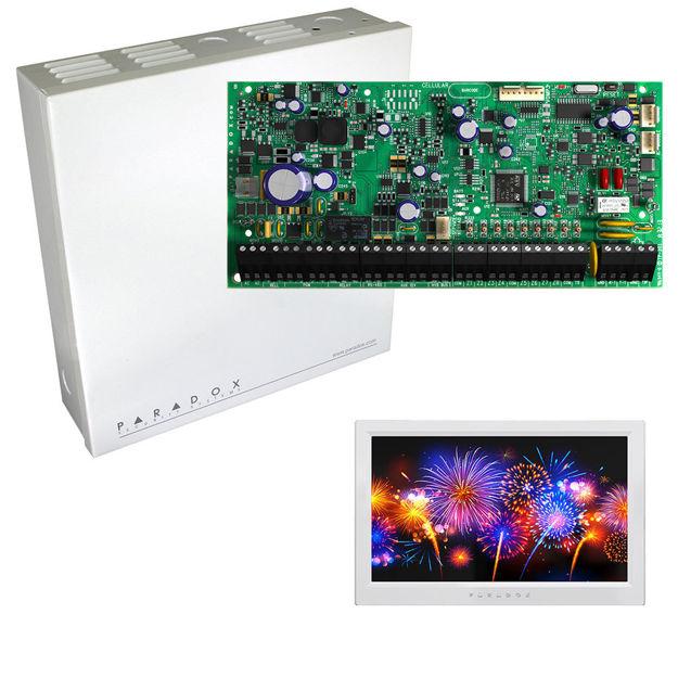 کنترل پنل حرفه ای پارادوکس مدل EVOHD به همراه کی پد TM70و جعبه فلزی