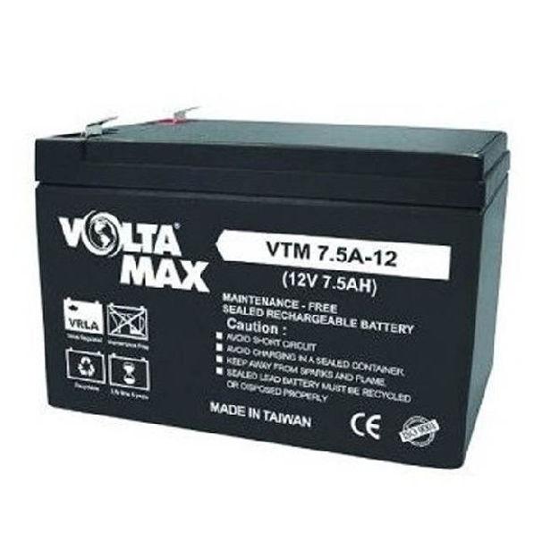 باتری 12 ولت 7.5 آمپرساعت Voltamax