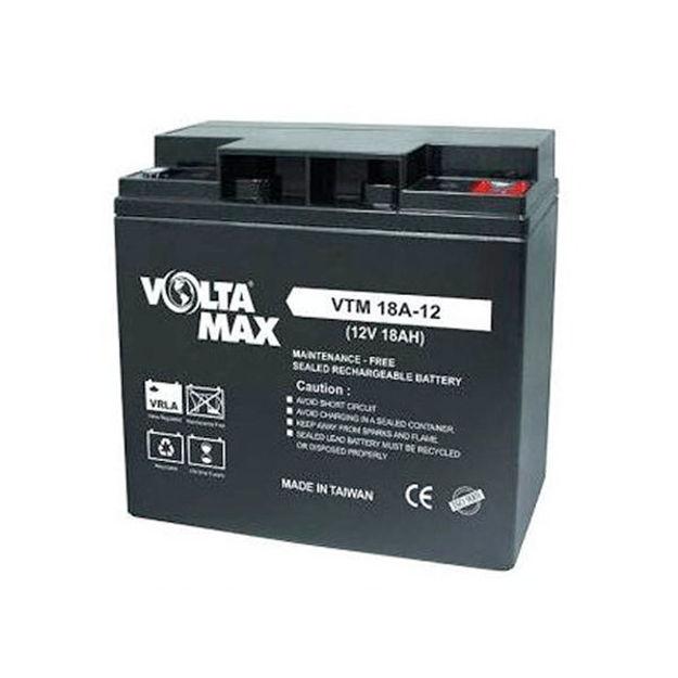 باتری 12 ولت 18 آمپرساعت Voltamax
