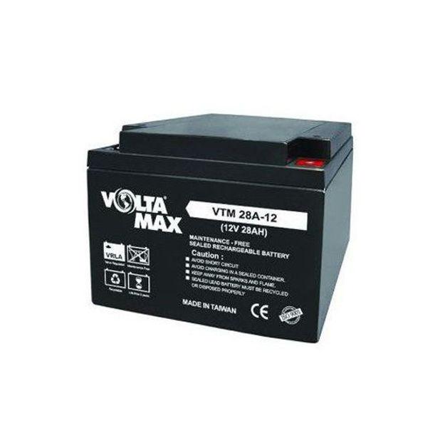 باتری 12 ولت 28 آمپرساعت Voltamax