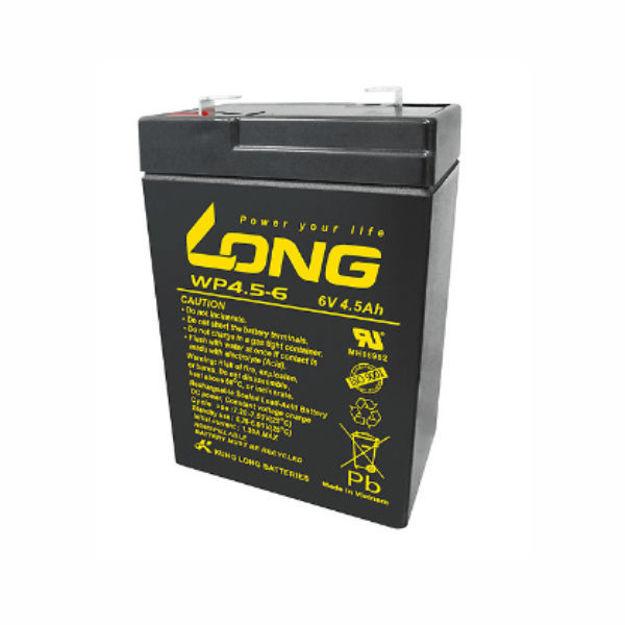 باتری 6ولت 4.5 آمپرساعت long