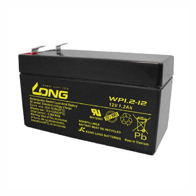 باتری ۱۲ ولت ۱.۲ آمپرساعت long