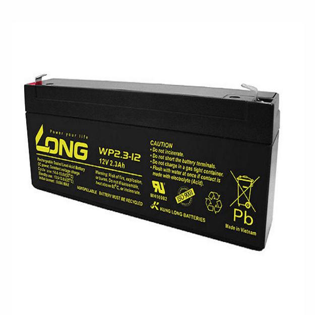 باتری ۱۲ ولت ۲.۳ آمپرساعت Long