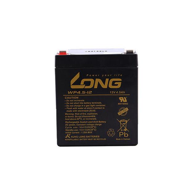 باتری 12 ولت 4.5 آمپرساعت long