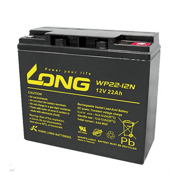 باتری 12 ولت 22 آمپرساعت لانگ