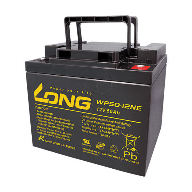 باتری 12 ولت 50 آمپرساعت لانگ