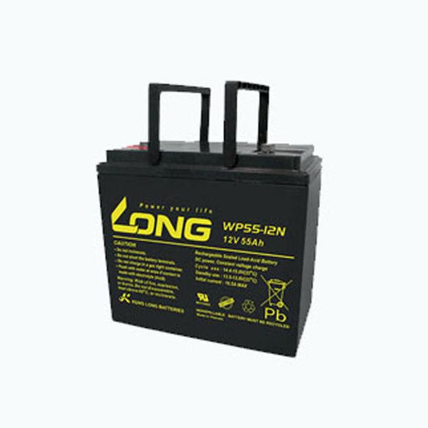 باتری 12 ولت 55 آمپرساعت لانگ