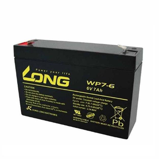 باتری 6 ولت 7 آمپرساعت Long