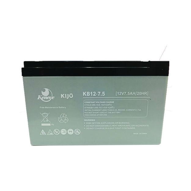 باتری 12 ولت 7.5 آمپر کنی مدل KB12-7.5