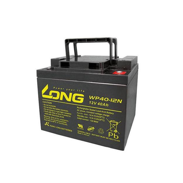باتری ۱۲ ولت 40 آمپرساعت Long