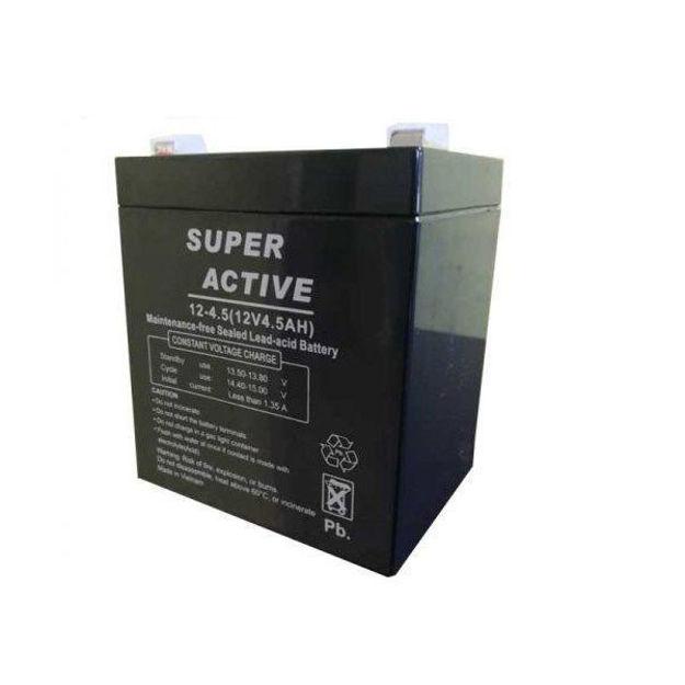 باتری 12 ولت 4.5 آمپر SUPER ACTIVE